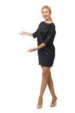 Woman in fashion concept Royalty Free Stock Photography