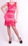 Woman in fashion dress Royalty Free Stock Photos
