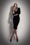 Woman fashion dress Stock Photos