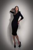 Woman fashion, evening dress Stock Photo