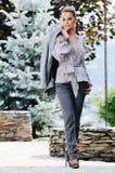 Woman fashion outdoor Stock Photos
