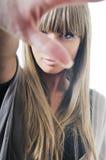 Woman fashion portrait Stock Photos