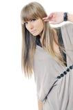 Woman fashion portrait Royalty Free Stock Image