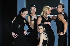 Woman fashion show Royalty Free Stock Image