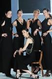 Woman fashion show Royalty Free Stock Photo