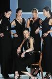 Woman fashion show Stock Image