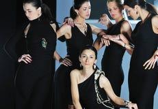 Woman fashion show Stock Photography