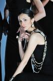 Woman fashion show Royalty Free Stock Photos