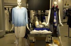 Woman fashion store mall Stock Photo