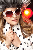 Woman fatale sunglasses Stock Photo