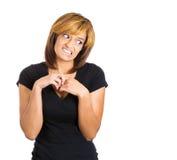 Woman feeling guilty Stock Photos