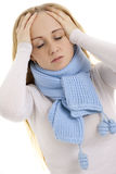 Woman feeling sick. Stock Photography