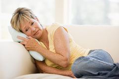 Woman Feeling Unwell Royalty Free Stock Images