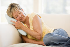 Woman Feeling Unwell Stock Image