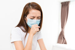 Woman feeling unwell Stock Photography