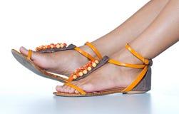 Woman feet Stock Image