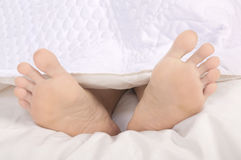 Woman Feet Stock Image