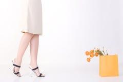 Woman feet. Royalty Free Stock Photo