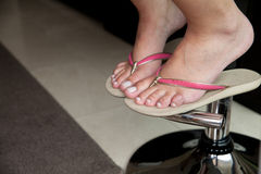 Woman feet Stock Photos
