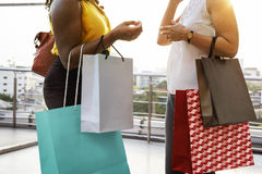 Woman Femininity Shopping Relax Concept Royalty Free Stock Image