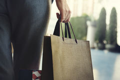 Woman Femininity Shopping Relax Concept Royalty Free Stock Images