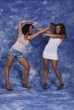 Woman fighting. Two woman´s fighting between them Royalty Free Stock Photography