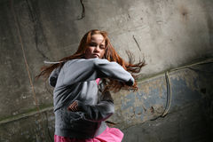 Woman fighting Royalty Free Stock Images
