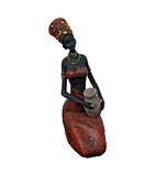 Woman figure. Wooden woman figure Stock Images
