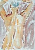 Woman figure Stock Image