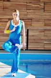Woman fitness Royalty Free Stock Image