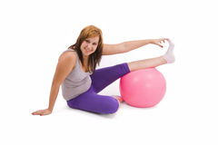 Woman and fitness Stock Image