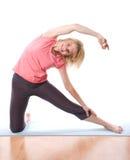 Woman fitness Stock Photo