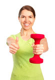 Woman, fitness Stock Image