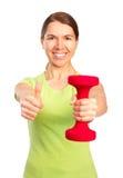 Woman, fitness Stock Image
