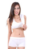 Woman and fitness Royalty Free Stock Photo