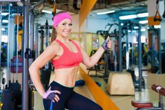 Woman fitness Royalty Free Stock Photography