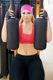Woman fitness Royalty Free Stock Photos