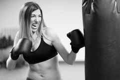 Woman Fitness Royalty Free Stock Photos