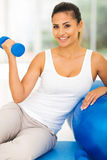 Woman fitness exercise Royalty Free Stock Photos