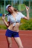 Woman fitness health Stock Photos