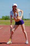 Woman fitness health Stock Image