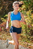 Woman fitness runner Royalty Free Stock Photography