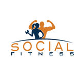 Woman of fitness silhouette character vector design temp Royalty Free Stock Photo