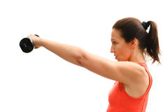 Woman fitness training Royalty Free Stock Photo
