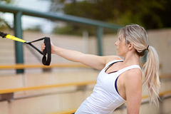 Woman fitness Royalty Free Stock Images