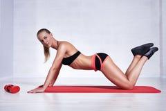 Woman fitness Stock Photos