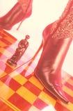 Woman foot Stock Image