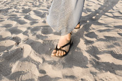 Woman foot Royalty Free Stock Images
