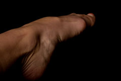 Woman foot stock photography