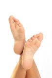 Woman Foots Stock Photo